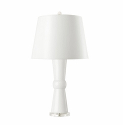 Clarissa Table Lamp White<font color=a8bb35> NEW</font>