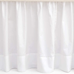Classic Hemstitch White Bedskirt<font color=a8bb35> 20% OFF</font>