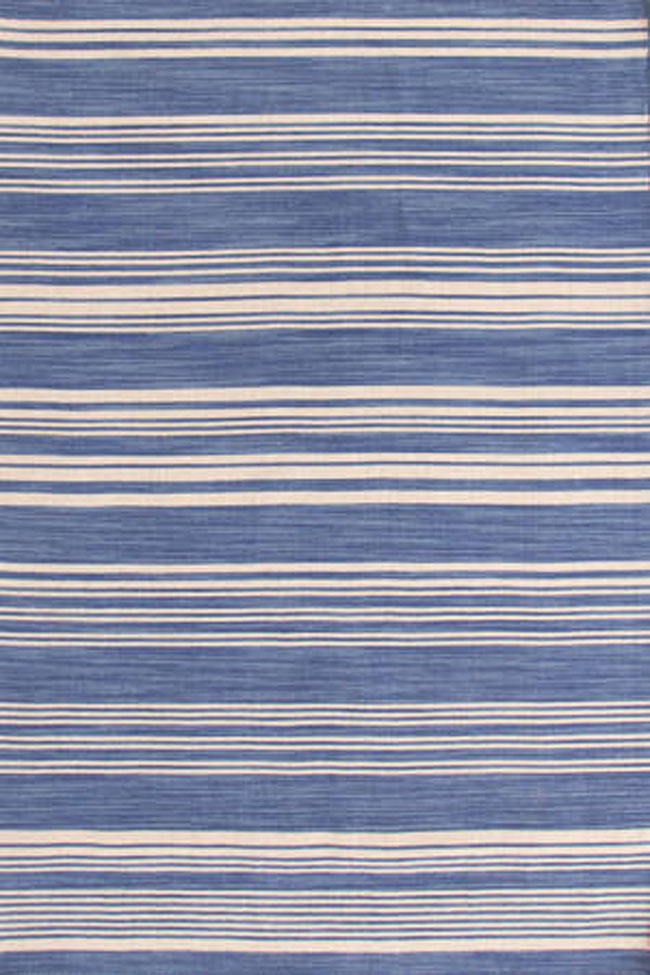 dash and albert cottage stripe french blue wool woven rug for sale cottage u0026 bungalow