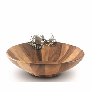 Crab Salad Serving Bowl<font color=a8bb35> NEW</font>