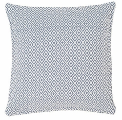 Crystal Denim/Ivory Indoor/Outdoor Pillow