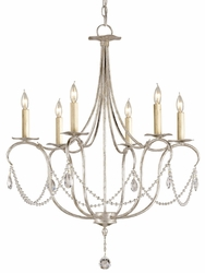 Crystal Lights 6-light Chandelier
