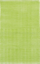 Herringbone Green Indoor/Outdoor Rug