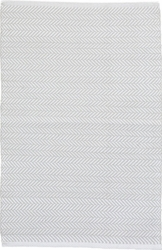 Herringbone Pearl Grey Indoor/Outdoor Rug