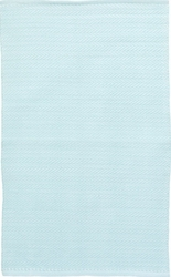 Herringbone Sky Blue Indoor/Outdoor Rug