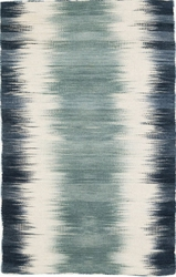 Sombre Kilim Woven Wool Rug