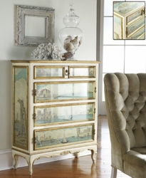 Decorated Venetian Chest <font color=cf2317>Discontinued</font>