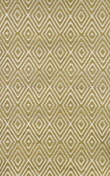 Diamond Khaki/White Indoor/Outdoor Rug
