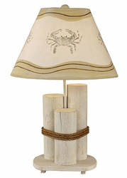 Dock Pilings Lamp