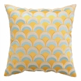 Double Arches Sunshine/Sky Embroidered Pillow