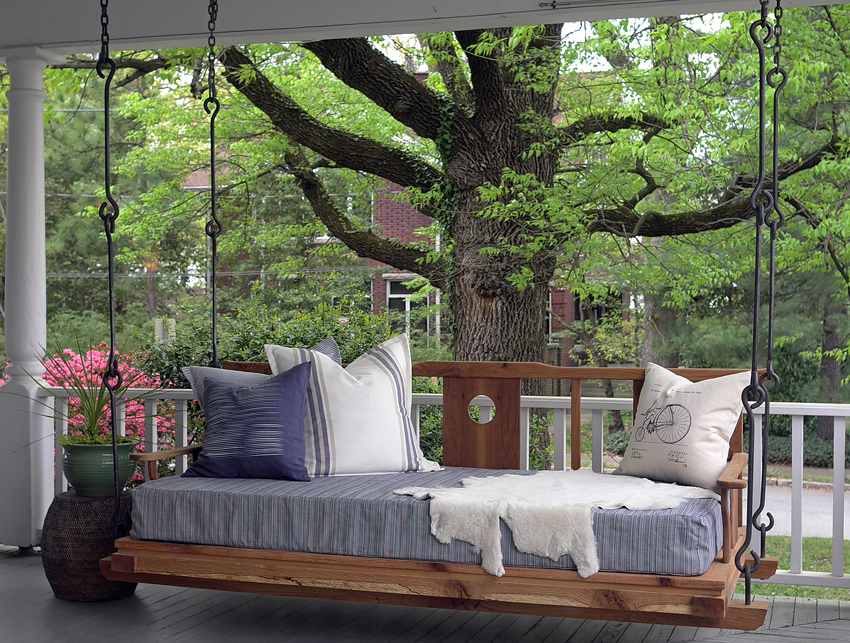 Double Happiness Hanging Porch Bed For Sale
