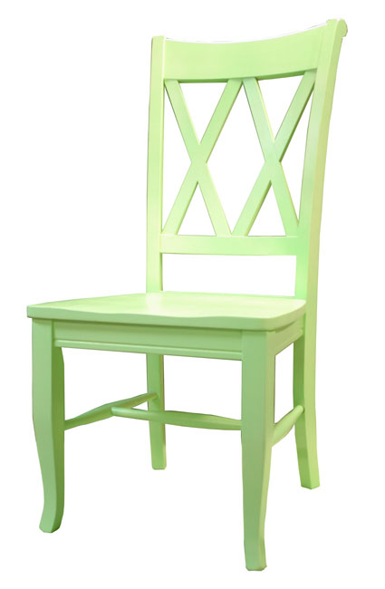 Double X Back Side Chair Or Barstool For Sale Cottage