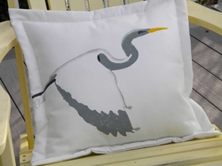 Egret Pillow