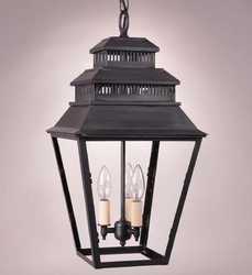 Elryan 3-Light Hanging Lantern