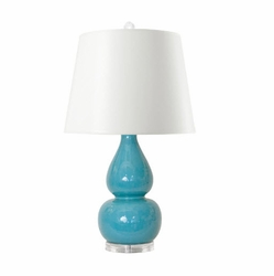 Emilia Table Lamp Turquoise