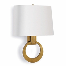 Engagement Sconce - Natural Brass
