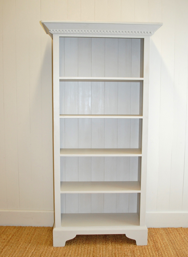 English Tall Bookcase For Sale Cottage Amp Bungalow