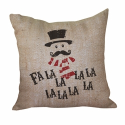 Fa La La La La Pillow <font color=a8bb35> Discontinued</font>