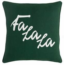 Fa La La Pillow Green