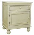 Farmhouse Bedside Table in Two Sizes <font color=CF2317>Save up to 10%</font>