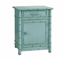 Faux Bamboo Nightstand