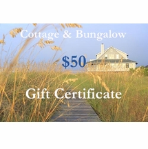 Fifty Dollar Gift Certificate