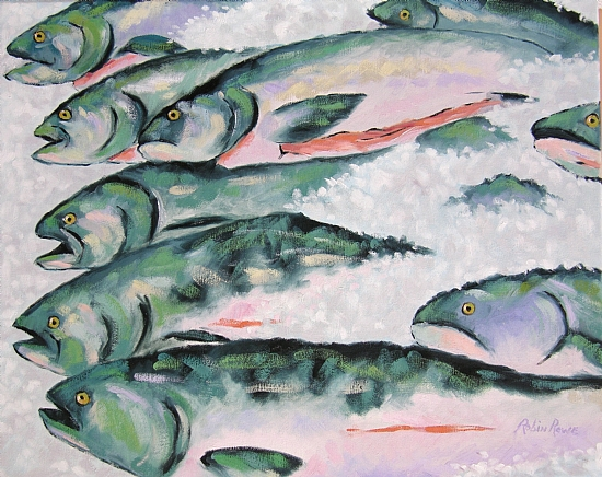 Fish Market Giclee for Sale