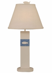 Fish Panel Table Lamp