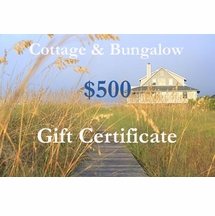 Five Hundred Dollar Gift Certificate