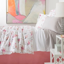 Flamingos Duvet Cover<font color=a8bb35> NEW</font>