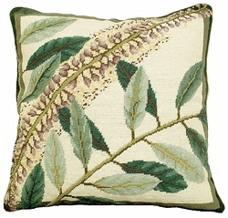 Floral Study 2 Needlepoint Pillow