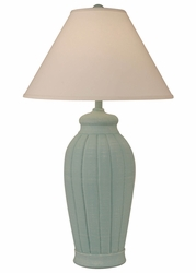 Fluted Pot Lamp