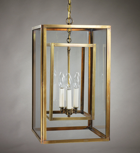 Large Foyer Hanging Lantern : Foyer light hanging fixture large for sale cottage