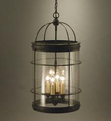 Foyer 4-light Round Hanging Light Fixture