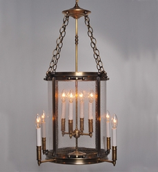Foyer 8-Light Hanging Light Fixture