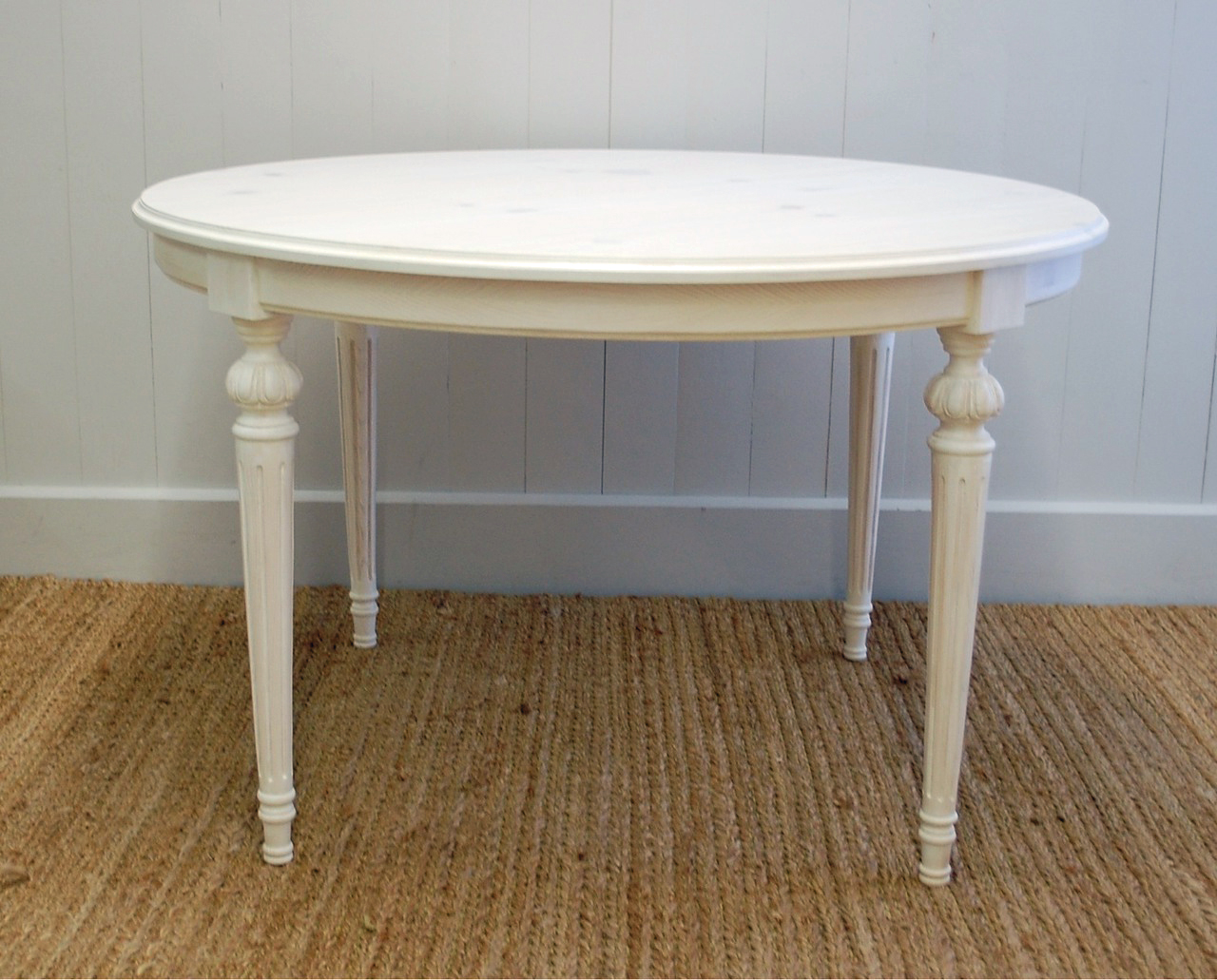 French Cottage Dining Table In Two Sizes For Sale