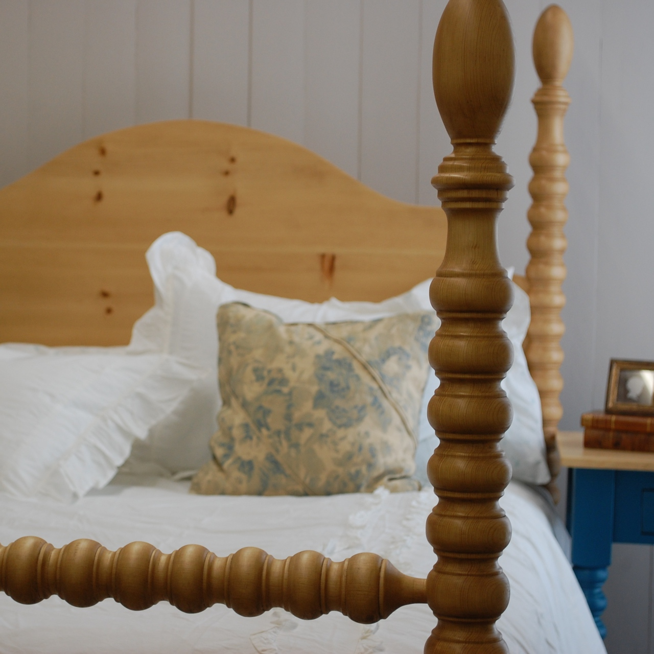 French Farm Spindle Bed For Sale Cottage Amp Bungalow