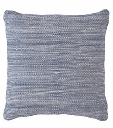 Mingled Denim Indoor/Outdoor Pillow 22""