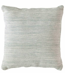 Mingled Light Blue Indoor/Outdoor Pillow 22""
