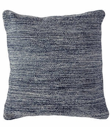 Mingled Navy Indoor/Outdoor Pillow 22""