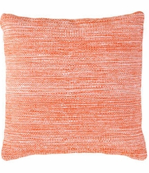 Mingled Tangerine Indoor/Outdoor Pillow 22""
