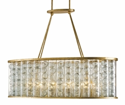 Frinton Rectangular 10-Light Chandelier
