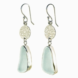 Full Moon Drop Earrings