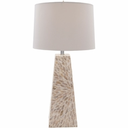 Gardner Mother of Pearl Table Lamp