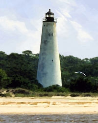 Georgetown Lighthouse Giclee