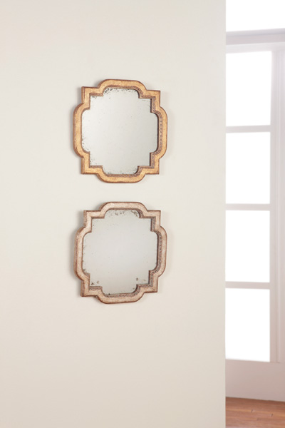 Georgian Square Mirrors in Gold or Silver Leaf