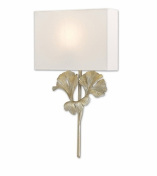 Ginko Wall Sconce - Two Finish Options <font color=a8bb35> NEW</font>