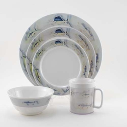 Great Oceans Melamine Dinnerware Collection with Platter