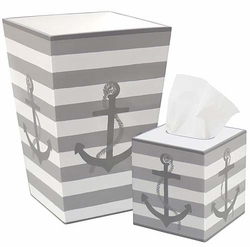 Grey Anchor Bath Set<font color=cf2317> Discontinued</font>