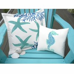Hand-Painted Indoor/Outdoor Pillows
